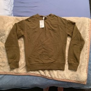 Moss Green Sweatshirt FINAL PRICE